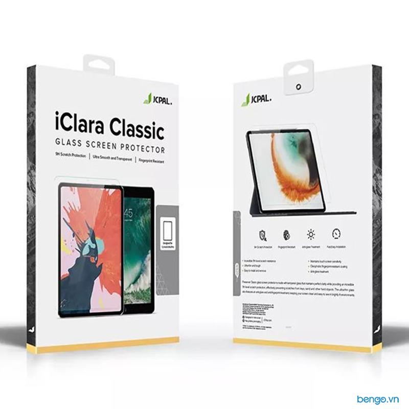 Dán màn hình cường lực iPad Pro 12.9'' 2018 JCPAL iClara 9H