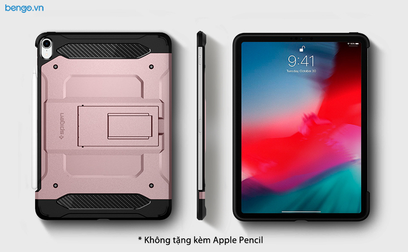 Ốp lưng iPad Pro 11 2018 Spigen Tough Armor Tech