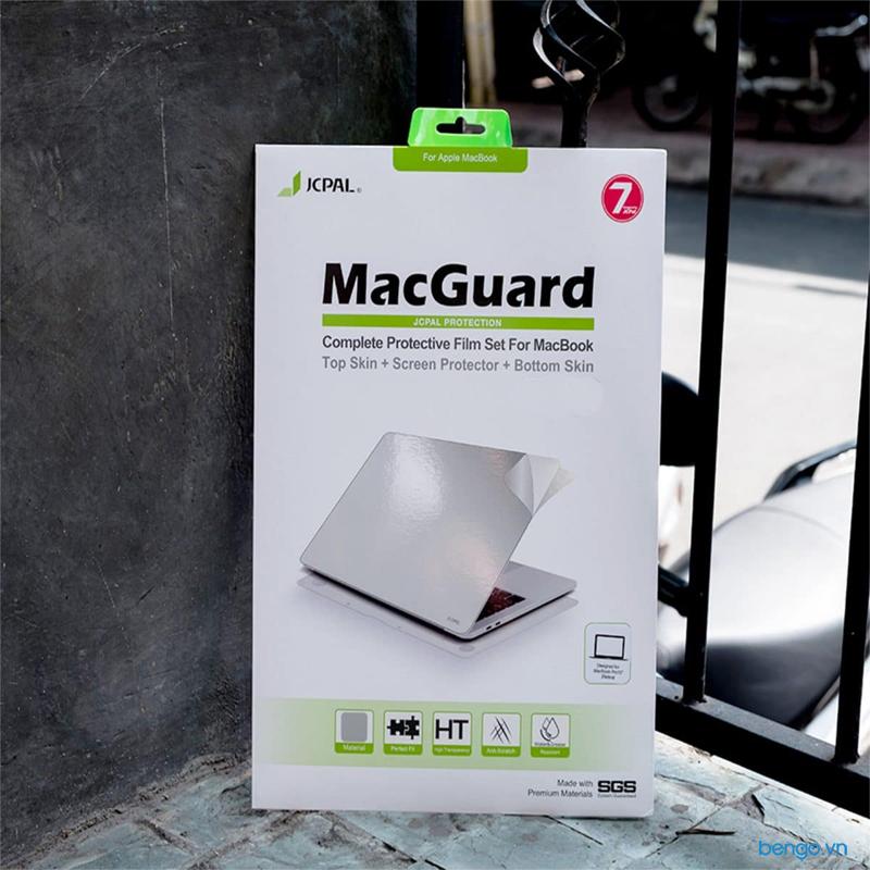 Bộ dán Full JCPAL MacGuard 5 in 1 cho Macbook Air 13'' 2018