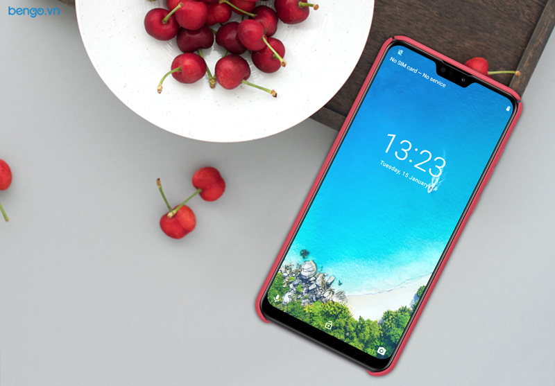 Ốp lưng Asus ZenFone Max Pro M2 (ZB631KL) Nillkin Super Frosted Shield