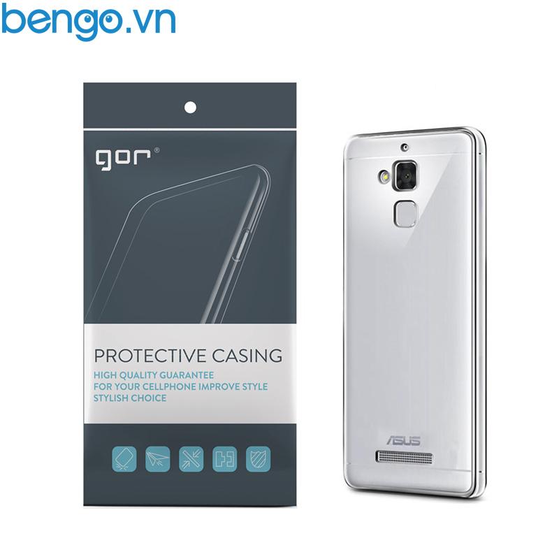 Ốp lưng Asus Zenfone 3 Max (ZC520TL) TPU dẻo trong suốt GOR