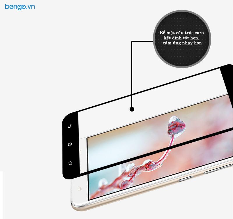 """dán màn hình cường lực asus zenfone 3 max 5.5"""" (zc553kl) full màn hình"""