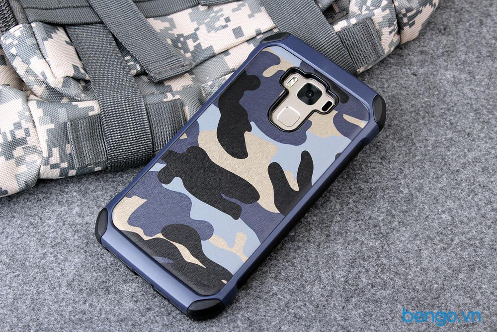 ốp lưng asus zenfone 3 max zc553kl họa tiết quân đội