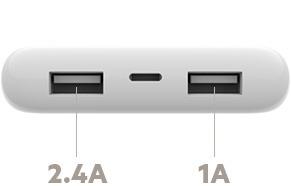 Pin sạc dự phòng 10000mAh Belkin BOOST↑CHARGE™ Power Input Lightning - F7U046BT