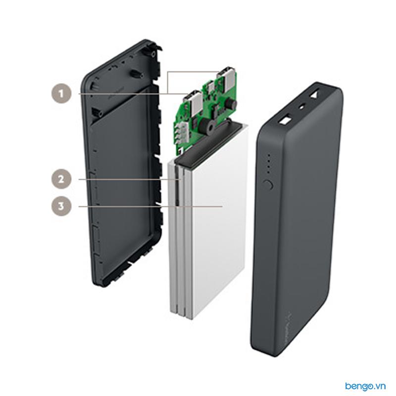 Pin sạc dự phòng Belkin Pocket Power 15000mAh - F7U021bt