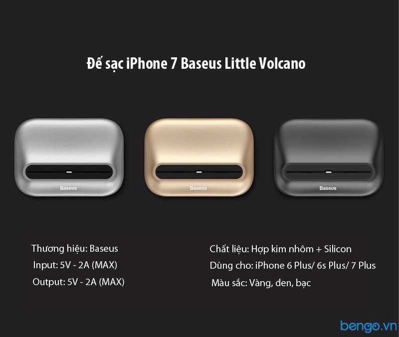 Đế sạc iPhone 7 Plus Baseus