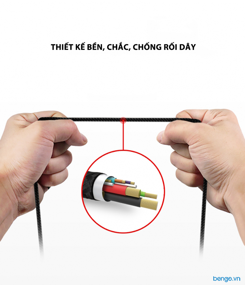Cáp sạc Lightning Ringke Smart Fish Charging Cable