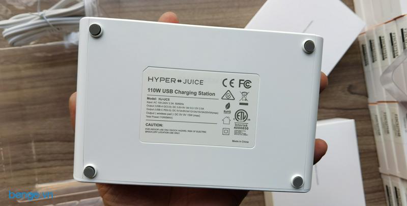 Sạc Hyper++Juice 110W