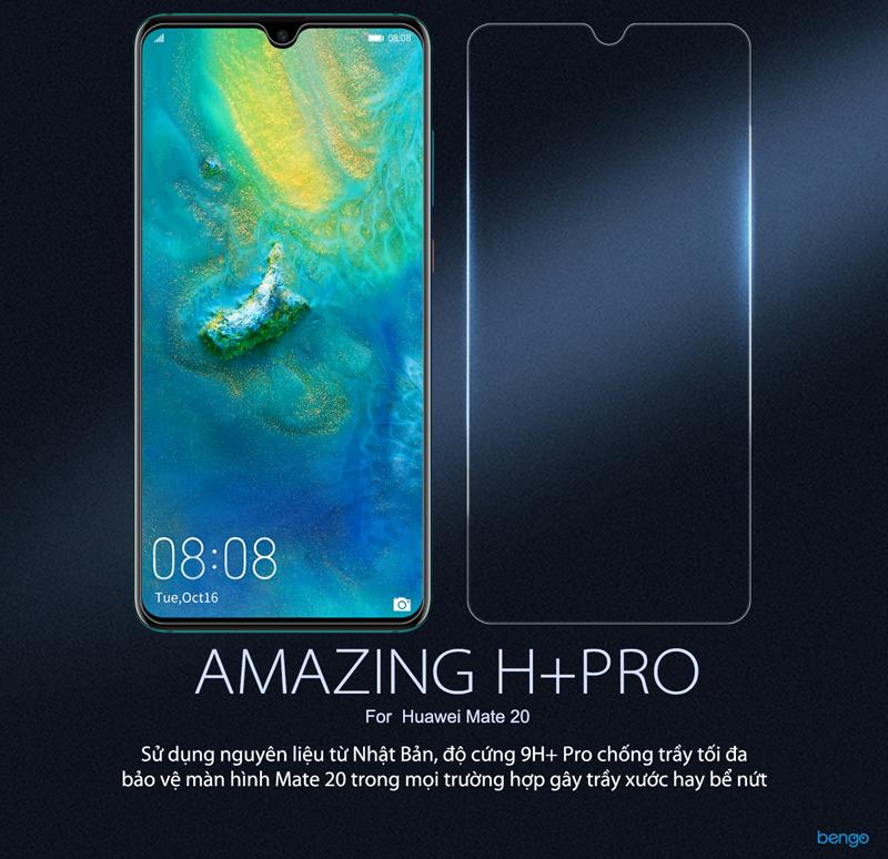 Kính cường lực Huawei Mate 20 Nillkin Amazing H+ PROc Huawei Mate 10 Nillkin Amazing H + PRO