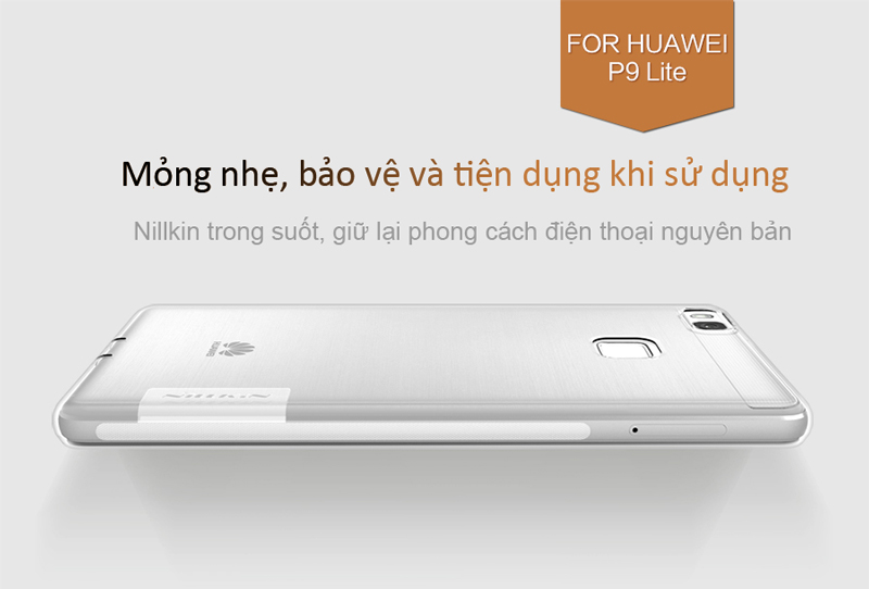 ốp lưng dẻo Huawei P9 lite nillkin cao cap