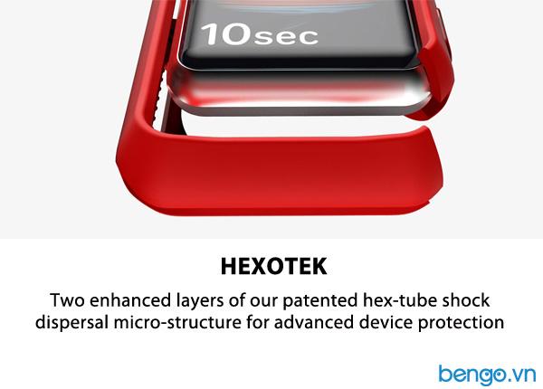 Bộ 2 ốp Apple Watch 40mm ITSKINS Spectrum // Bumper Antimicrobial