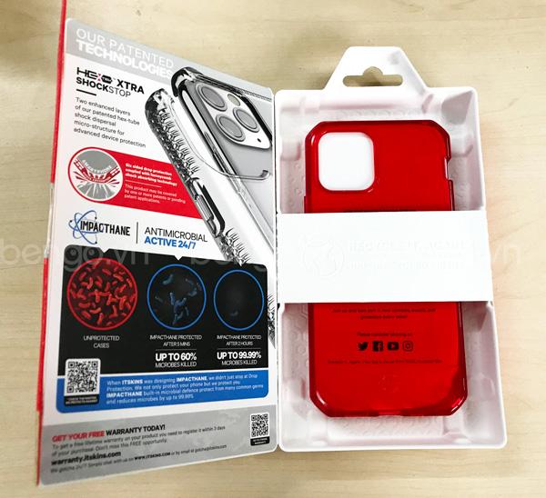 Ốp lưng iPhone 12/12 Pro ITSKINS Spectrum // Clear Antimicrobial