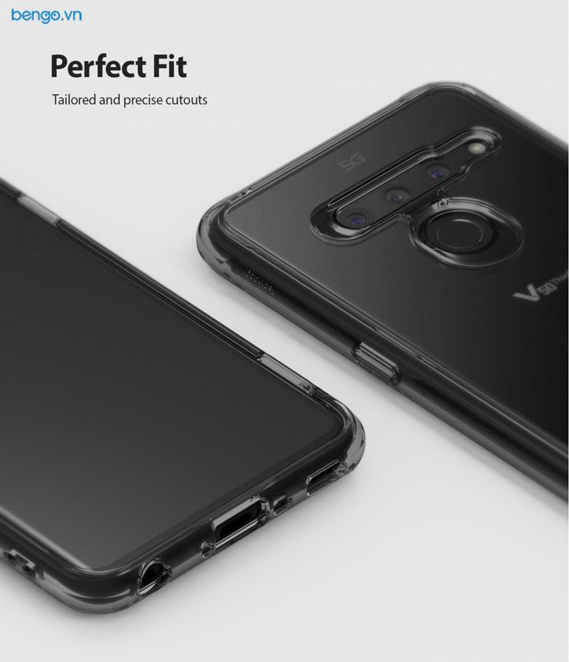 Ốp lưng LG V50 Ringke Fusion