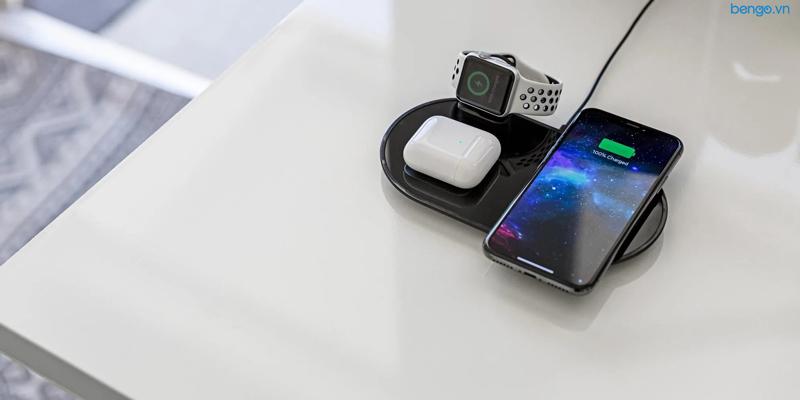 Sạc Không Dây Mophie 3-in-1 Wireless Charging Pad