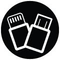 Pin sạc dự phòng Mophie Powerstation Plus 6000mAh với cáp chuyển đổi tích hợp