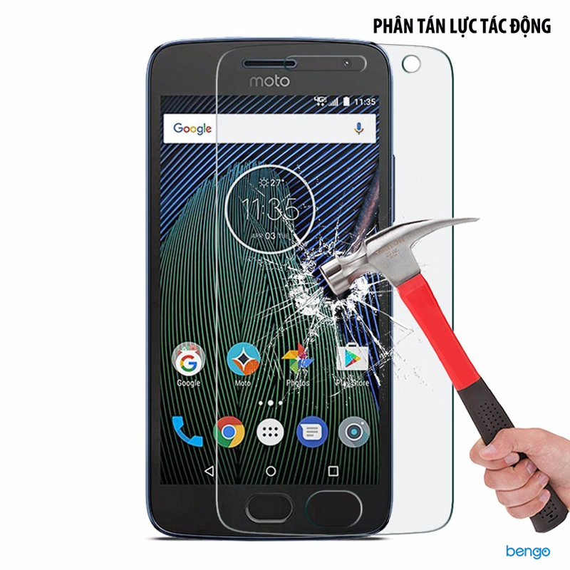 Dán màn hình cường lực Motorola Moto G5 Plus 9H+