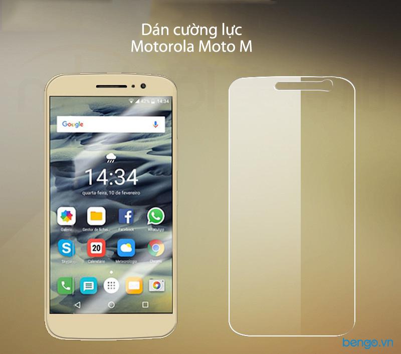 Dán màn hình cường lực Motorola Moto M 9H Pro