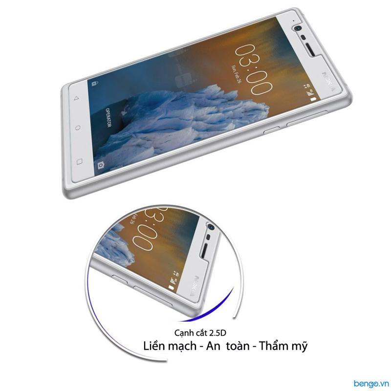 Dán màn hình cường lực Nokia 3 9H
