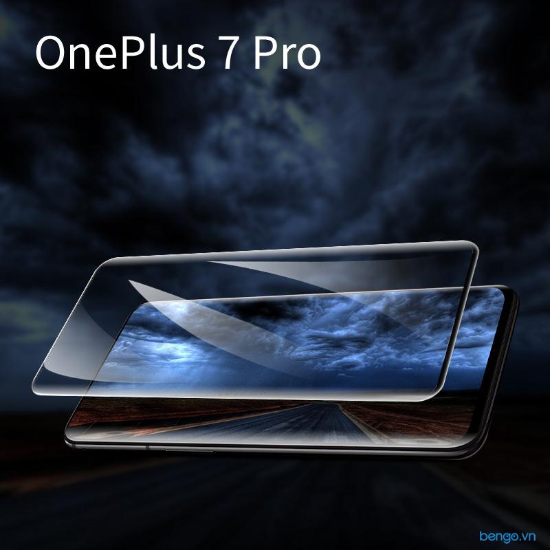 Dán cường lực OnePlus 7 Pro 3D full keo và từ tính