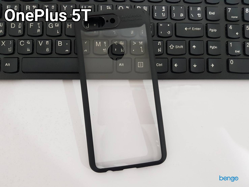 Ốp lưng Oneplus 5T IPAKY trong suốt viền nhựa dẻo