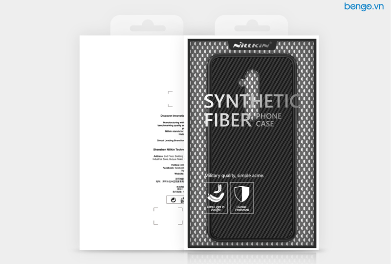 Ốp lưng Oneplus 7T Pro Nillkin sợi tổng hợp (Synthetic Fiber)