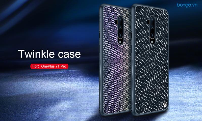 Ốp lưng Oneplus 7T Pro Nillkin Twinkle case