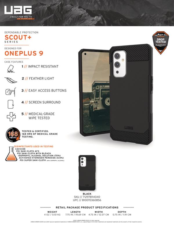 Ốp lưng Oneplus 9 UAG Scout+ Series