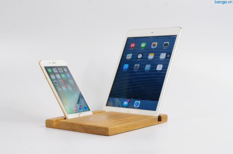 Đế dựng điện thoại, tablet bằng gỗ