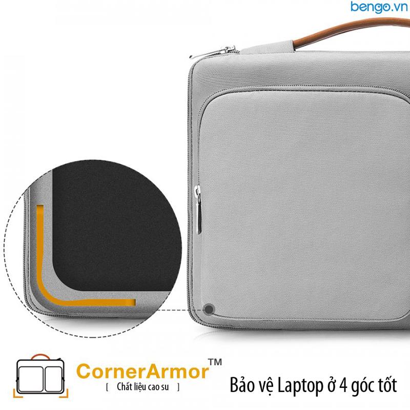 "Túi đeo chống sốc MacBook 13"" TOMTOC (USA) 360° Shoulder Bags - A42-C01"