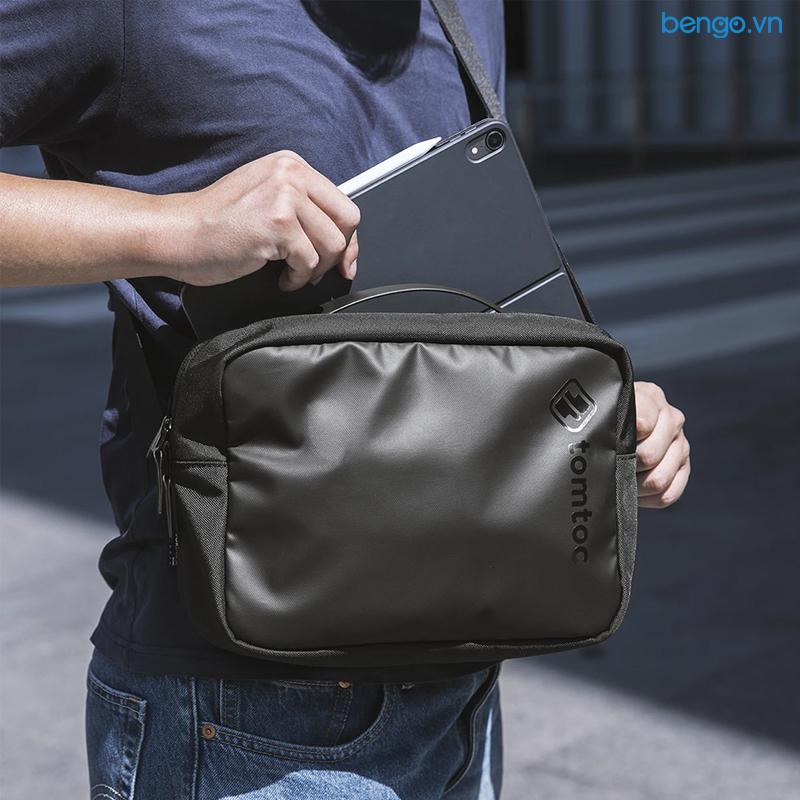 Túi đeo chéo TOMTOC (USA) CROSSBODY cho iPad/Tablet/Notebook 11 inch - H02-A01D