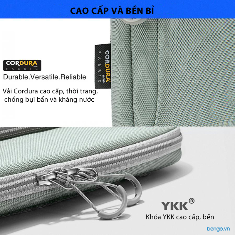 """Túi xách chống sốc MacBook Pro/Air 13"""" New TOMTOC (USA) 360° Protection Premium"""