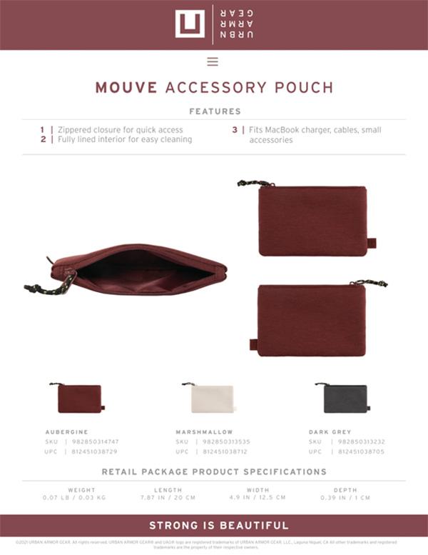 [U] Túi đựng đồ cá nhân/Accesory Pouch UAG