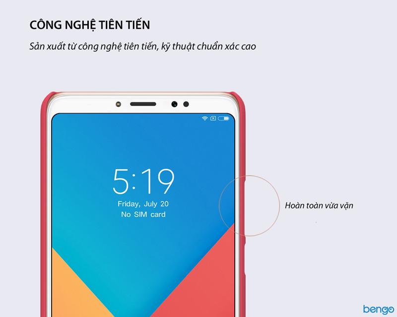 Ốp lưng Xiaomi Mi Max 3 Nillkin Super Frosted Shield