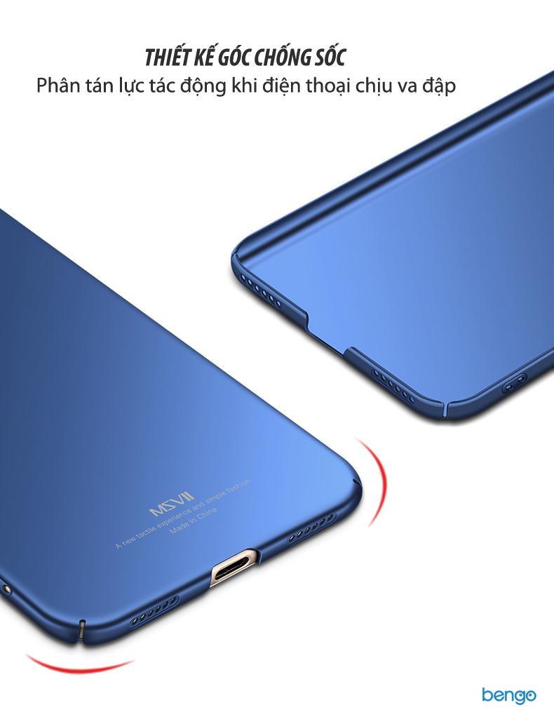 Ốp lưng Xiaomi Redmi Note 5A MSVII nhựa Polycarbonate siêu mỏng