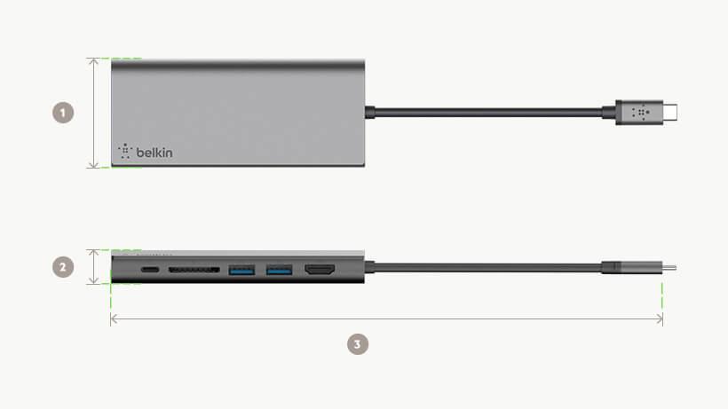 Belkin USB-C™ Multimedia Hub