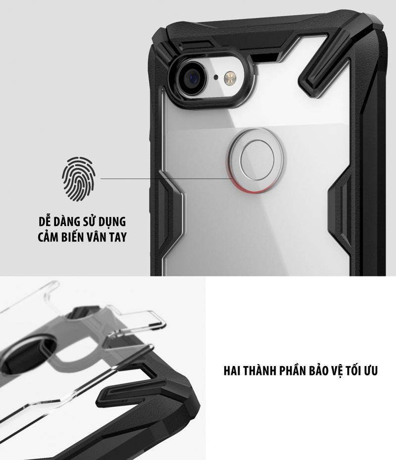 Ốp lưng Google Pixel 3 XL Ringke Fusion X
