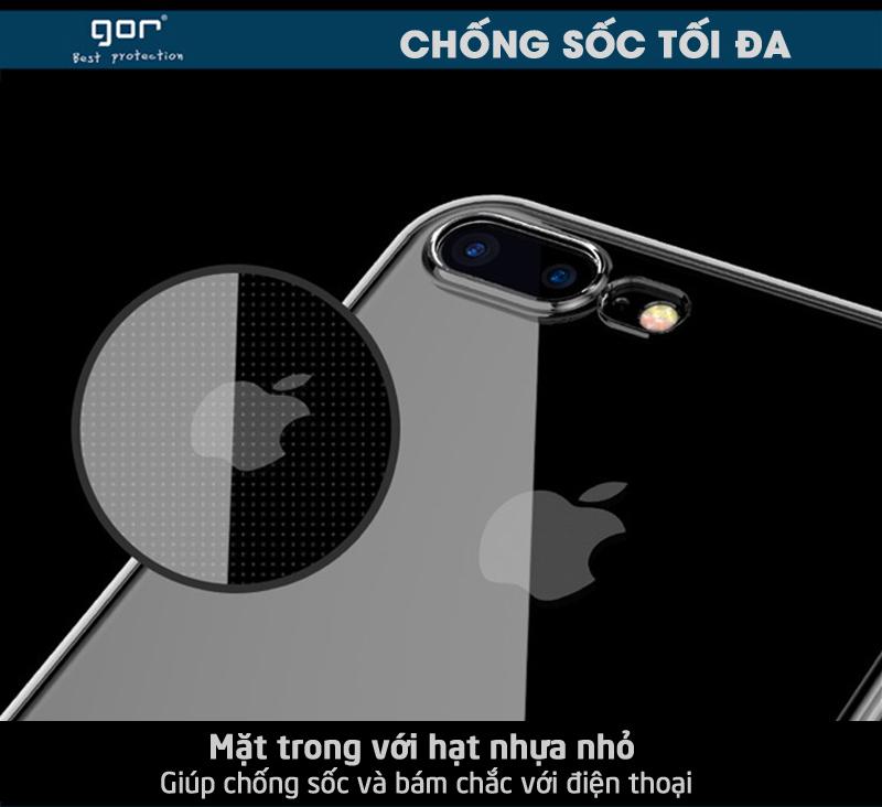 Ốp lưng Meizu M5 Note TPU dẻo trong suốt GOR