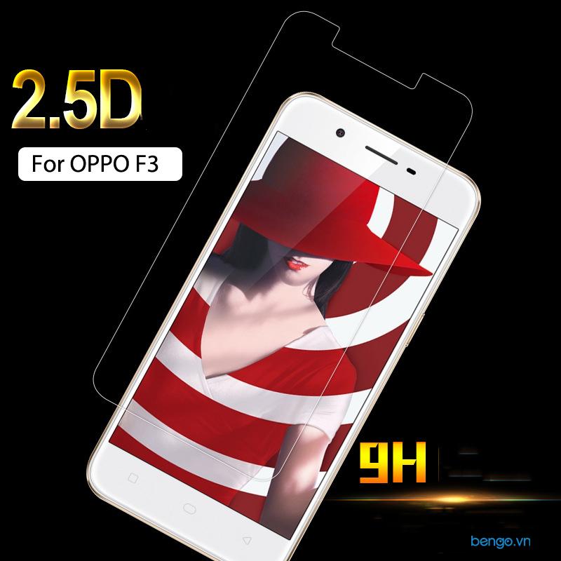 Dán màn hình cường lực OPPO F3 9H+