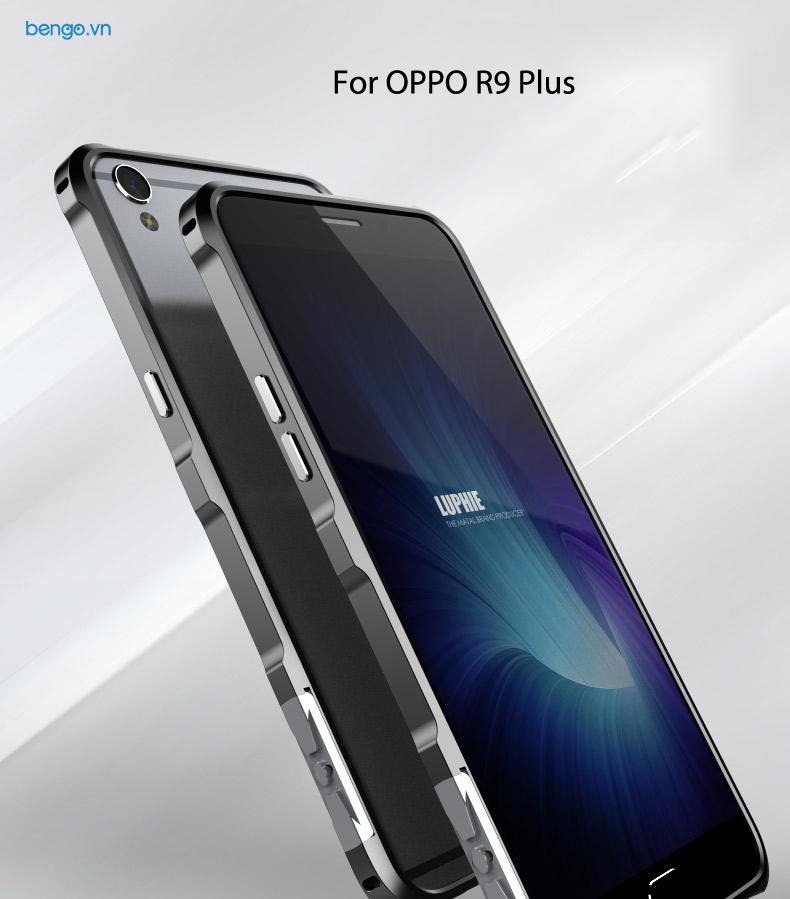 iền kim loại OPPO R9 Plus Luphie