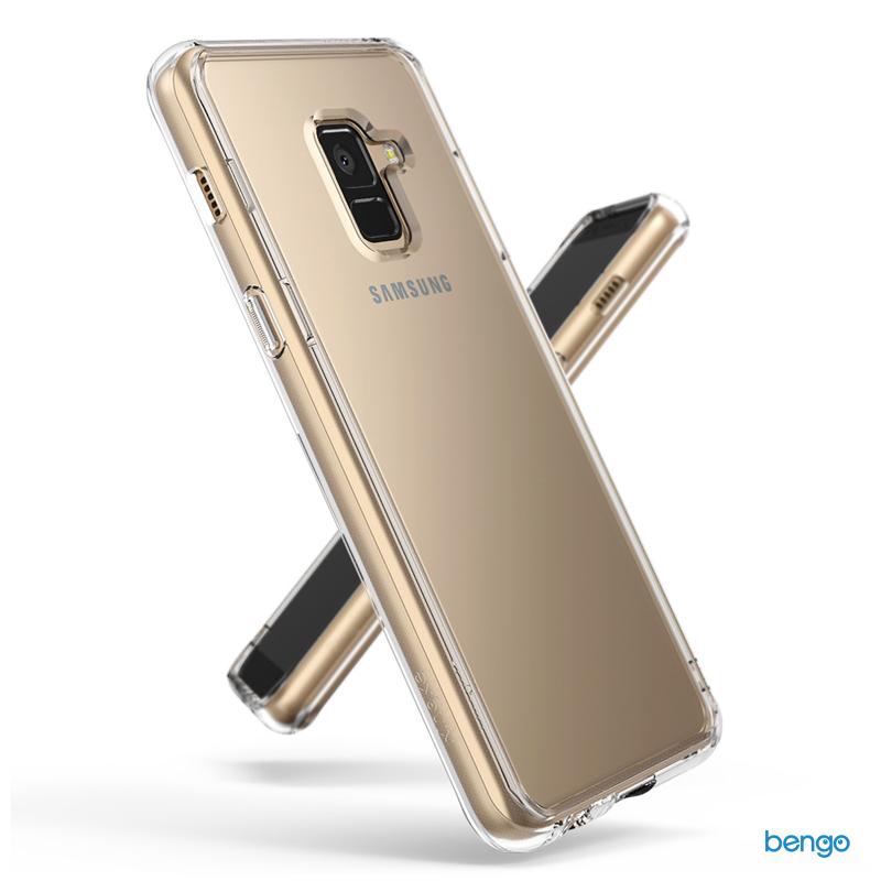 Ốp lưng Samsung Galaxy A8 Plus (2018) RINGKE Fusion