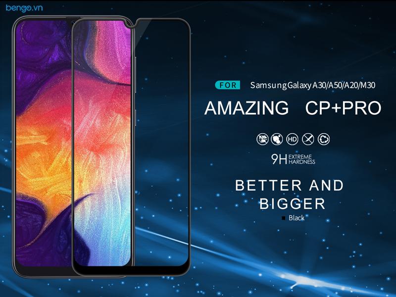 Dán cường lực Samsung Galaxy A50/A50s/A30/A30s Nillkin CP+ Pro Full keo màn hình