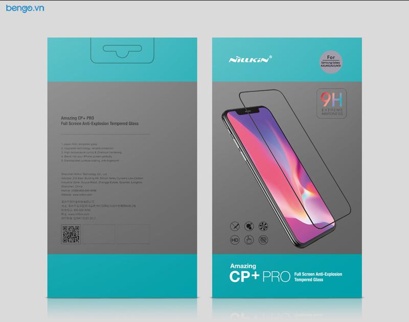 Dán cường lực Samsung Galaxy A50/A30 Nillkin CP+ Pro Full keo màn hình