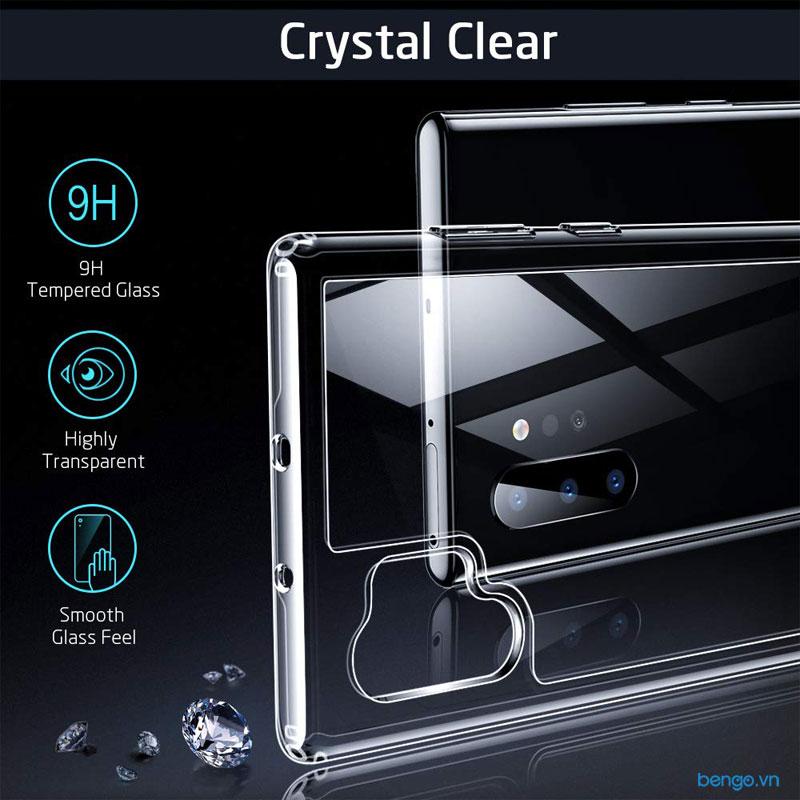 Ốp lưng Samsung Galaxy Note 10 Plus ESR Mimic Tempered Glass