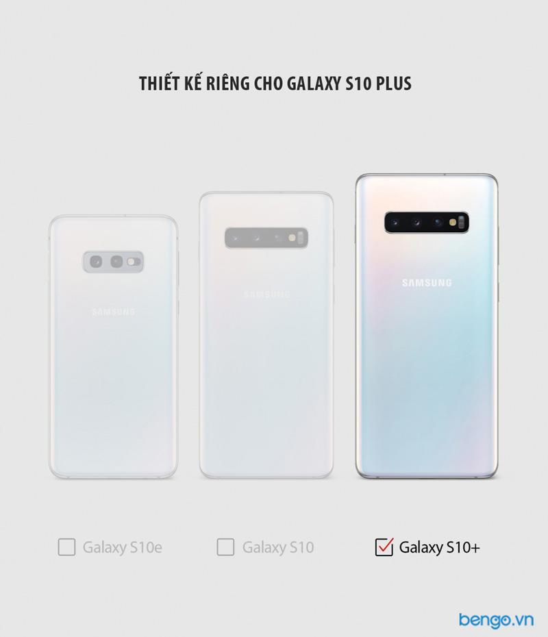 Ốp lưng Samsung Galaxy S10 Plus RINGKE Onyx