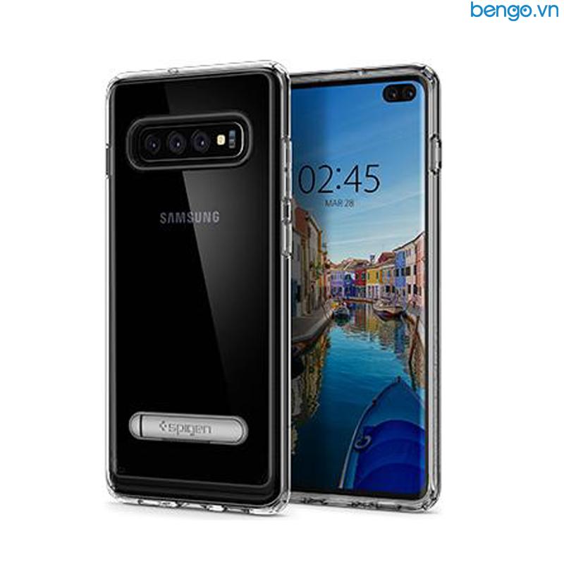 Ốp lưng Samsung Galaxy S10 Plus SPIGEN Ultra Hybrid S