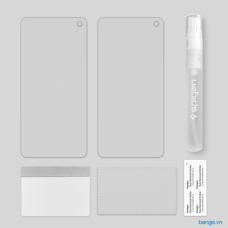 Dán màn hình Samsung Galaxy S10 Plus SPIGEN Neo Flex HD (Hộp 2 miếng)