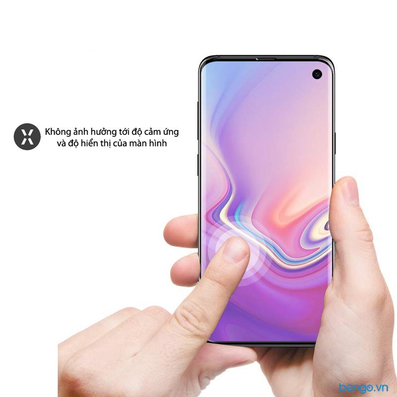 Dán cường lực Samsung Galaxy S10e Full keo và từ tính