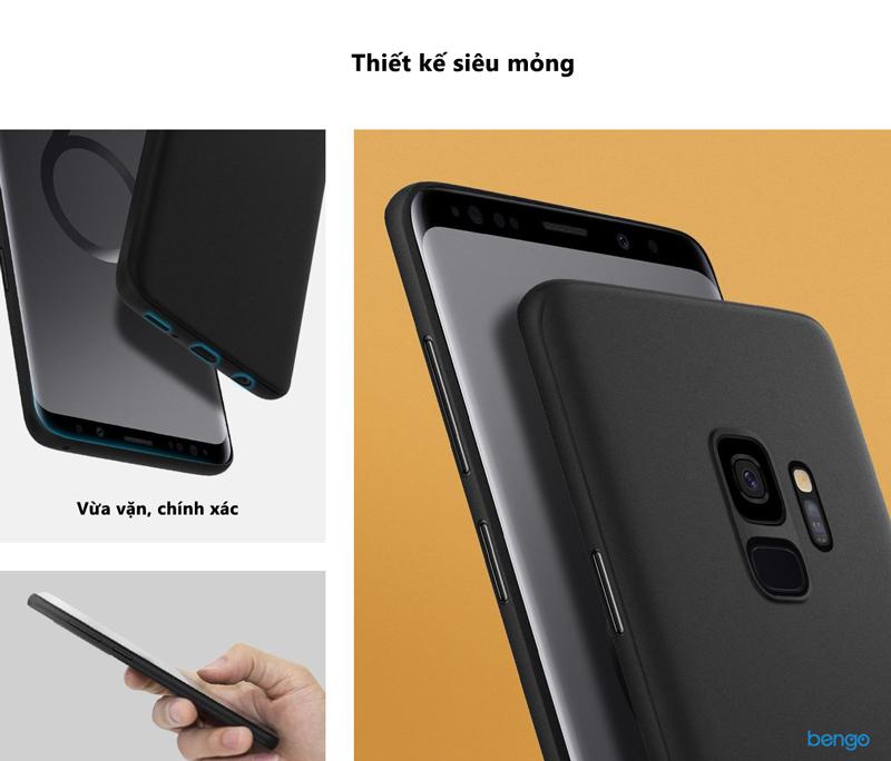 Ốp lưng Samsung Galaxy S9 Spigen Air Skin
