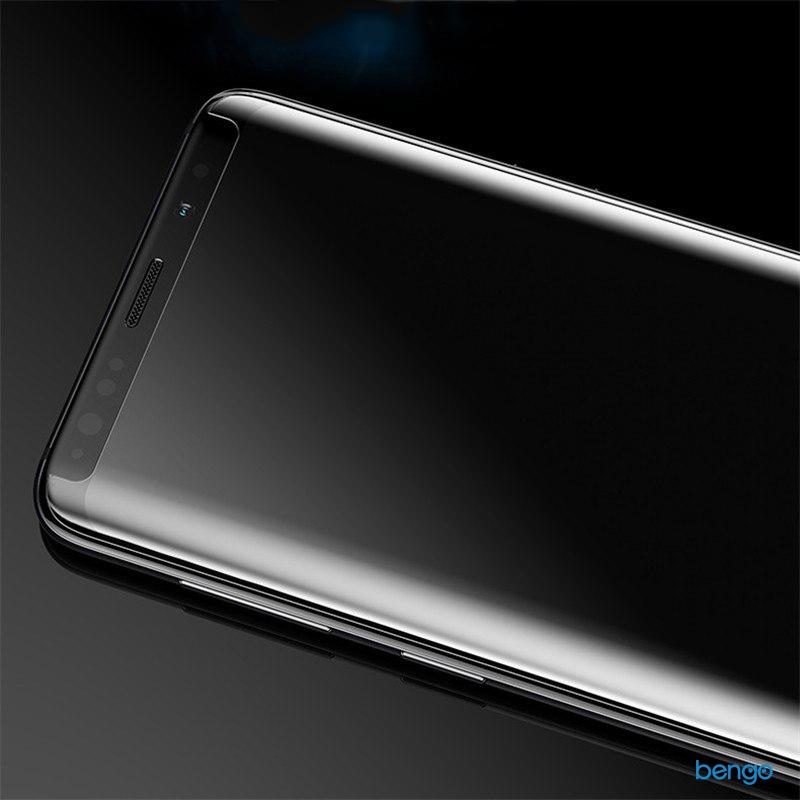Dán cường lực Samsung Galaxy S8 3D full keo UV