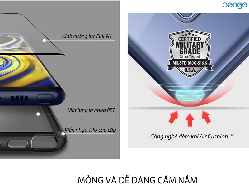 Ốp lưng Samsung Galaxy Note 9 SPIGEN Ultra Hybrid 360